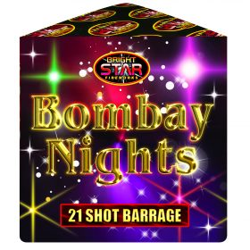 Bombay Nights From Cardiff Fireworks