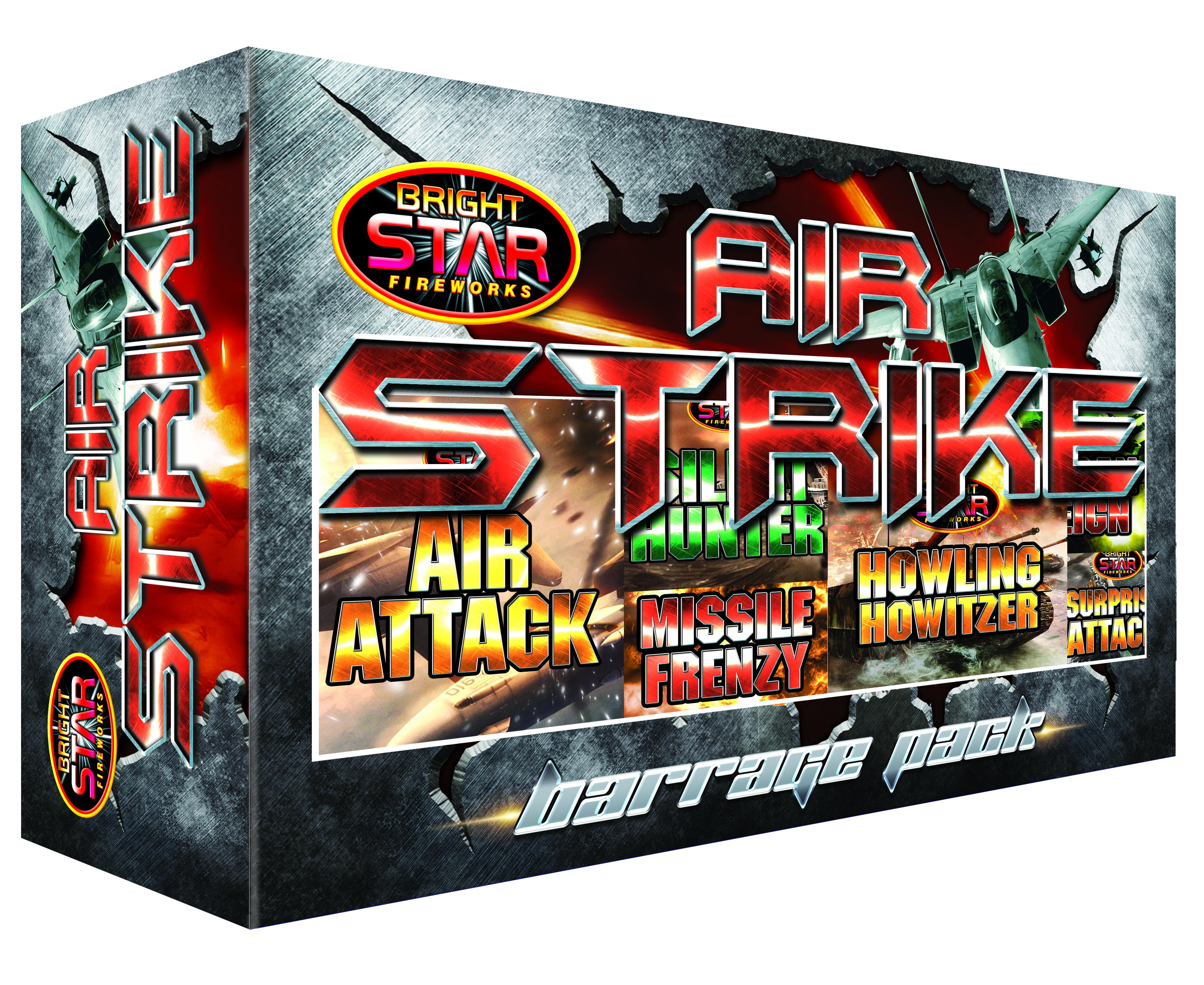 Air Strike Barrage Pack Image