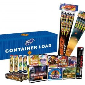 Container Load Barrage Pack From Cardiff Fireworks