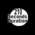 210 seconds