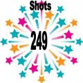 249 shots