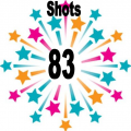 83 shots