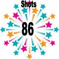 86 shots