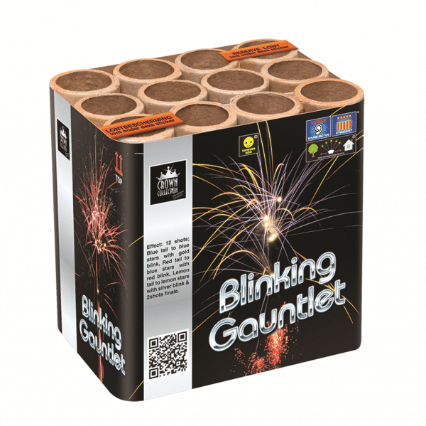 Blinking Gauntlet By Zeus available from Cardiff Fireworks