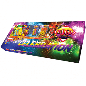 Celebration Selection Box By Brightstar Available from Cardiff Fireworks