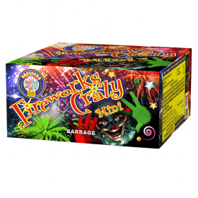 Fireworks Crazy Mini Available From Cardiff Fireworks