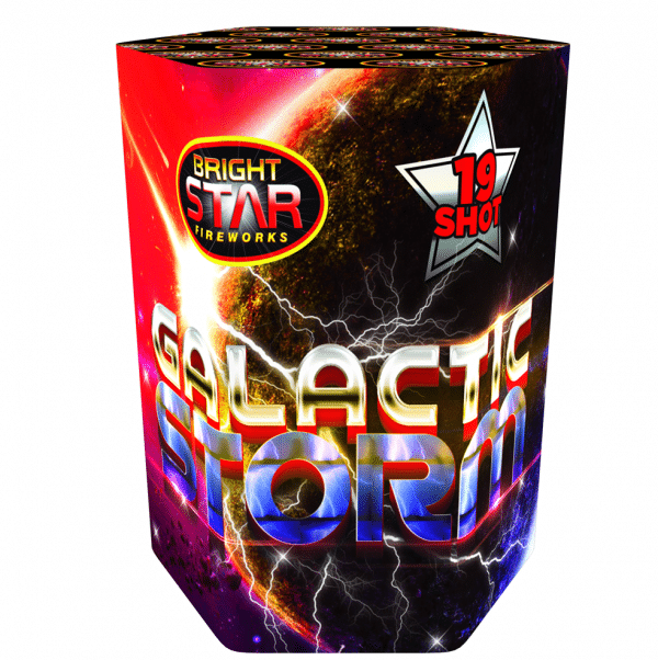 Galactic Storm By Brightstar available from Cardiff Fireworks