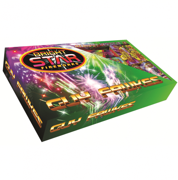 Guy Fawkes Selection Box By Brightstar Available from Cardiff Fireworks
