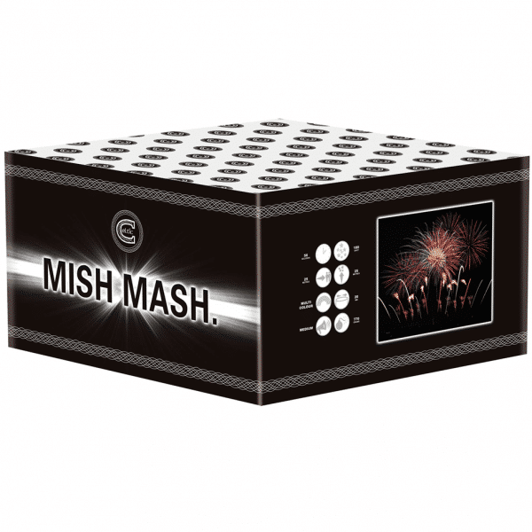 Mish Mash from Celtic Fireworks available from Cardiff Fireworks