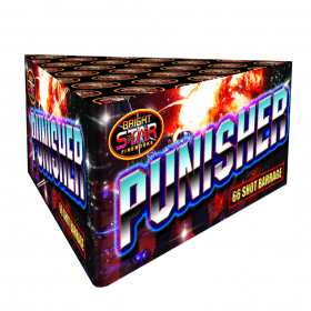 The Punisher by Brightstar Available from Cardiff Fireworks