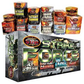 Strike Force Barrage Pack From Cardiff Fireworks