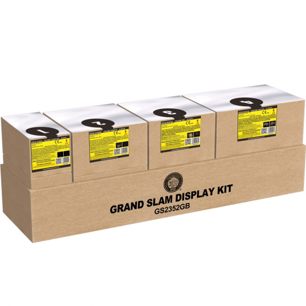 Grand Slam Display Kit Available From Cardiff Fireworks