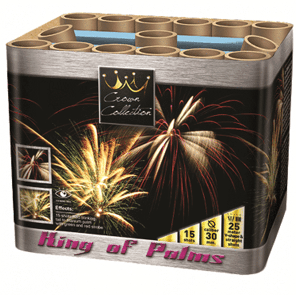 King Of Palms By Zeus from Cardiff Fireworks