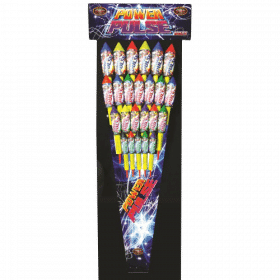 Power Pulse Rockets From Cardiff Fireworks
