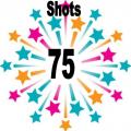 75 shots