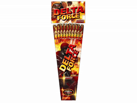 Delta Force Rockets From Cardiff Fireworks
