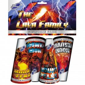 The Lava Family From Brothers Pyrotechnics