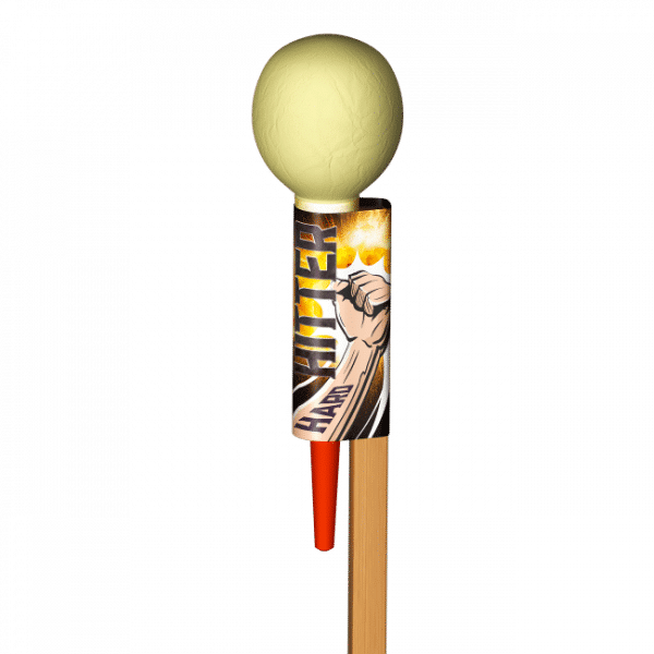 Hard Hitter Rocket From Absolute Fireworks