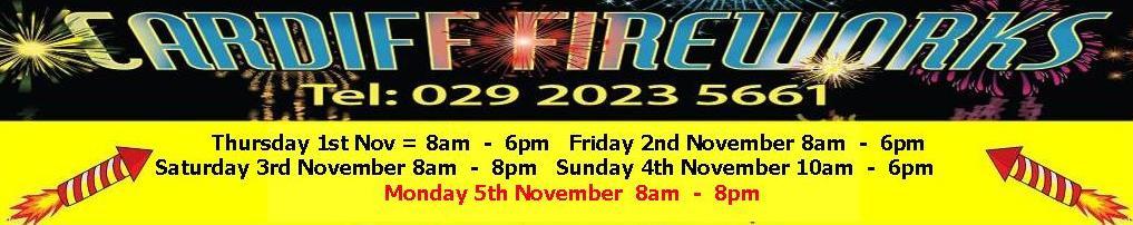 Cardiff Fireworks