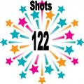 122 shots