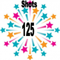 125 shots