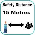 15 metres
