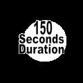 150 seconds