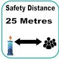 25 metres