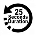 25 seconds