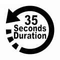 35 seconds