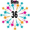 36 shots