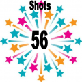 56 shots
