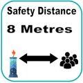 8 metres