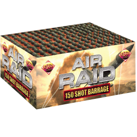 Air Raid Barrage From Brightstar Fireworks