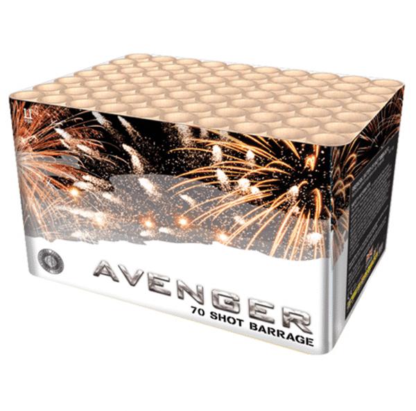 Avenger Barrage From Zeus Fireworks