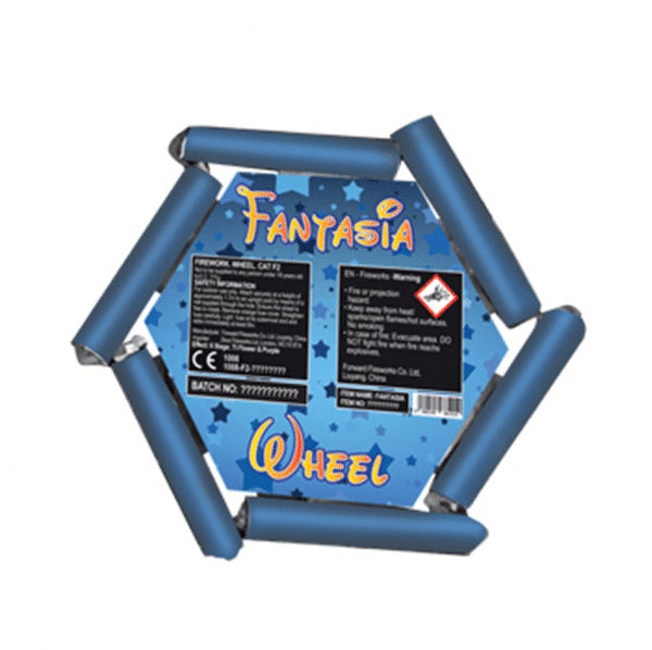 Fantasia Wheel From Zeus Fireworks