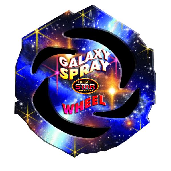 Galaxy Spray Catherine Wheel