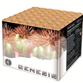 Genesis Barrage From Zeus Fireworks