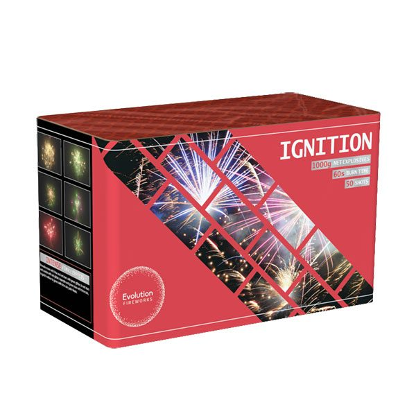 Ignition Barrage From EvolutionFireworks