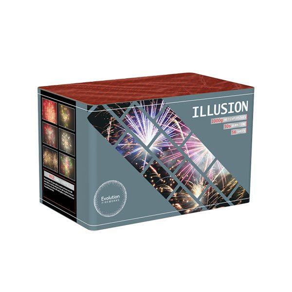 Illusion Barrage From Evolution Fireworks