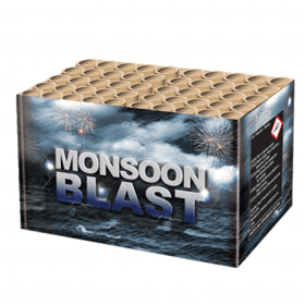 Monsoon Blast Barrage from Zeus Fireworks