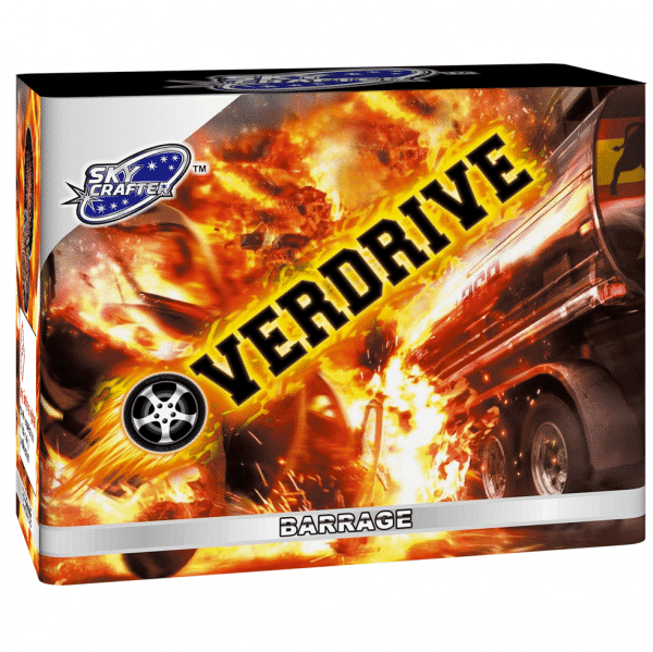 Overdrive Barrage From Brothers Pyrotechnics