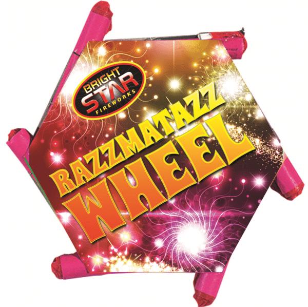 Razzmattaz Catherine Wheel From Cardiff Fireworks
