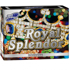 Royal Splendor Barrage From Brothers Pyrotechnics