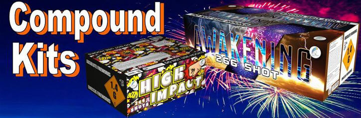 Professional Firework Display Kits Available All Year Around From Cardiff Fireworks