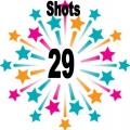 29 shots