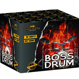 Boss Drum Barrage From Hallmark Fireworks
