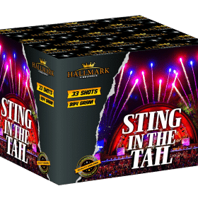 Sting In The Tail Barrage from Hallmark Fireworks