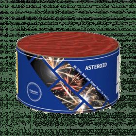 Asteroid Barrage From Evolution Fireworks