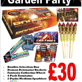 Garden Party Fireworks Pack